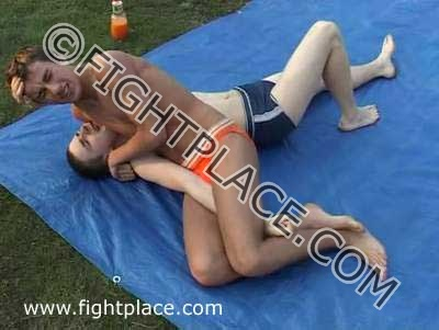 Wrestling at the Lake